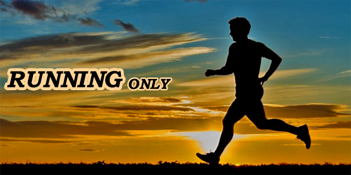 How can you get fit by only running?