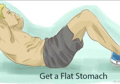 How long does it take to get a flat stomach?